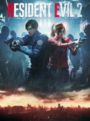 Resident Evil 2 Remake Box Art